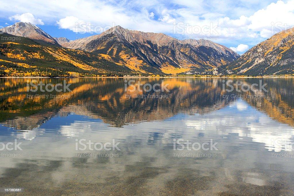 Panorama of Aspen royalty-free stock photo