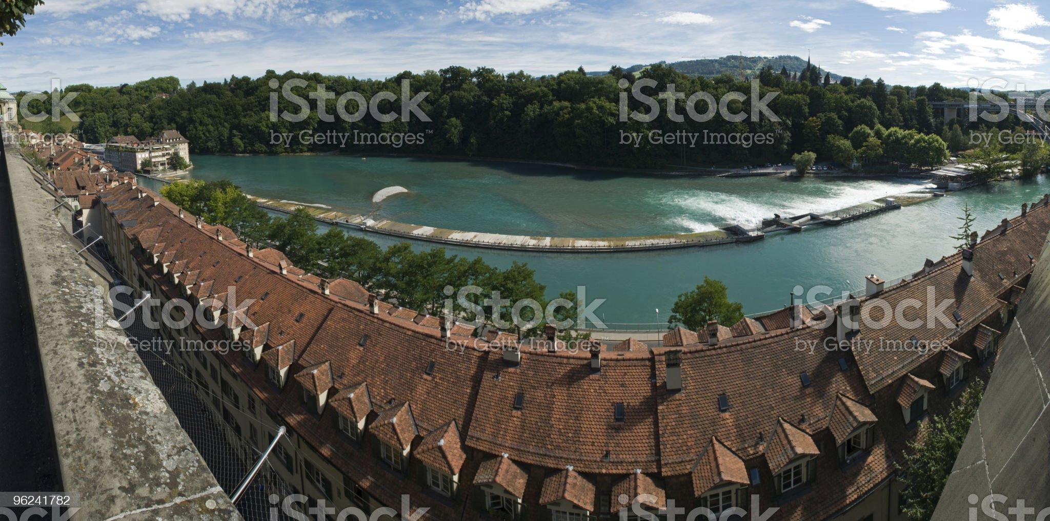 Panorama of Bern, Switzerland royalty-free stock photo