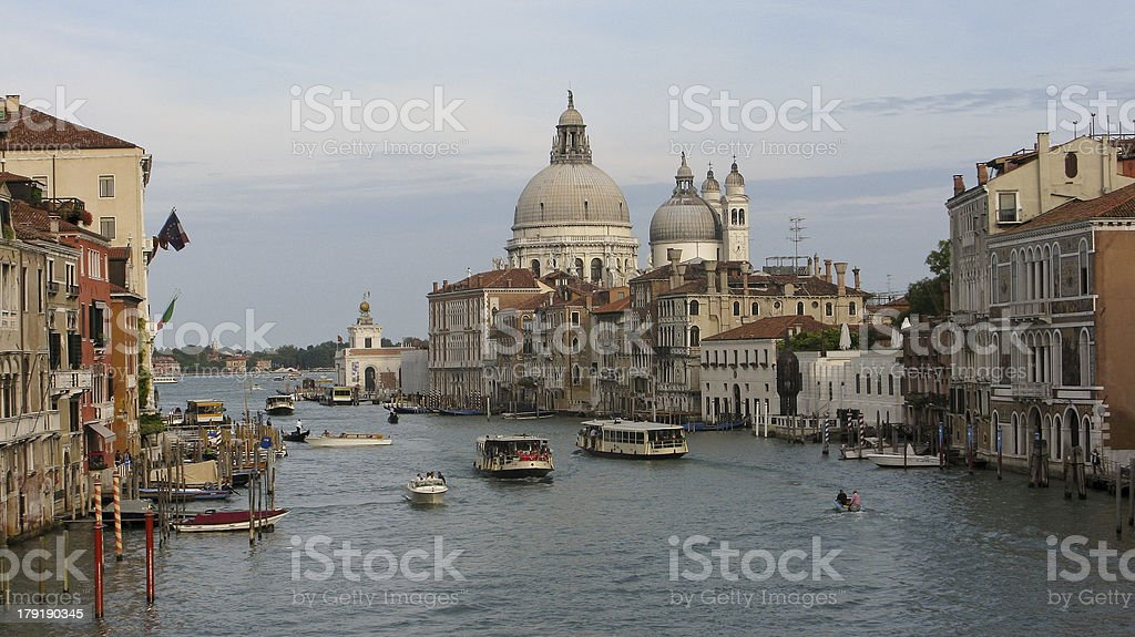 panorama of grand canal royalty-free stock photo