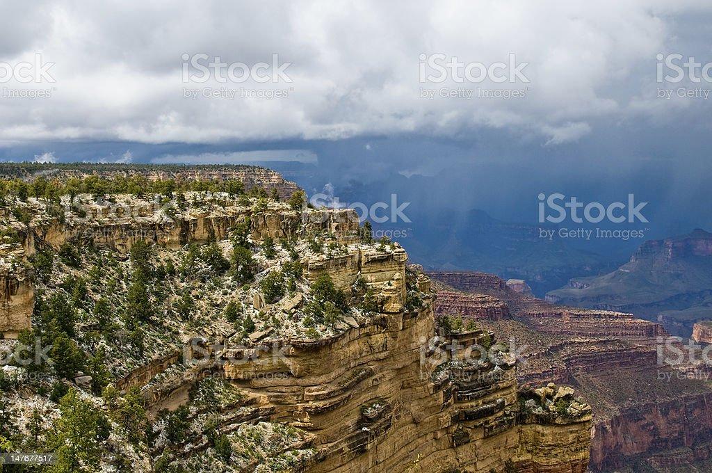Panorama of Grand Canyon, Arizona, USA royalty-free stock photo