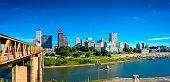 Panorama of Memphis Skyline