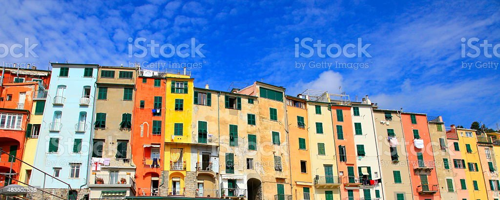 Cool Panorama Of Portovenere Colorful Italian Buildings City Life Largest Home Design Picture Inspirations Pitcheantrous