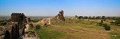 Panorama of Rohtas fortress in Punjab Pakistan