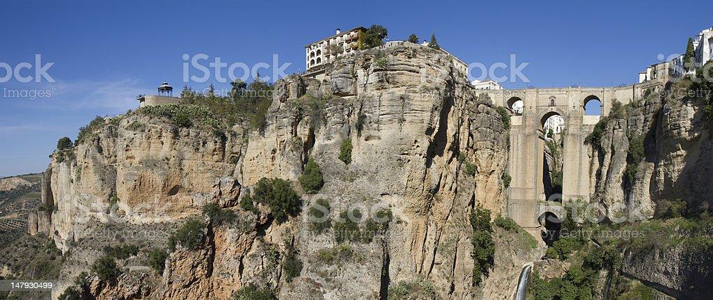 Panorama of Ronda royalty-free stock photo