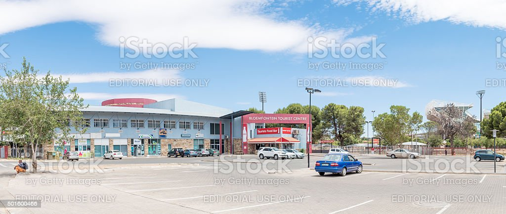 Panorama of the Bloemfontein Tourist Centre stock photo