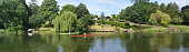 Panorama of the River Ouse at St Neots