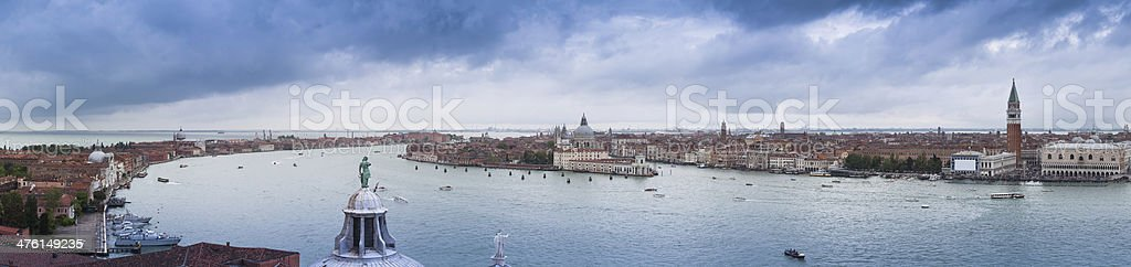 Panorama of Venice royalty-free stock photo