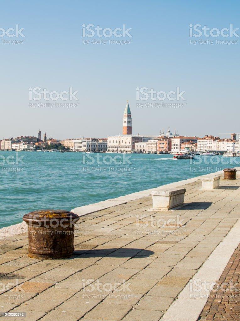 Panorama of Venice stock photo