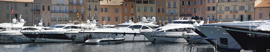 Panorama Saint Tropez royalty-free stock photo