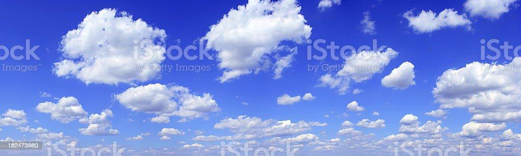Panorama sky  (XXXL) 43mpx royalty-free stock photo