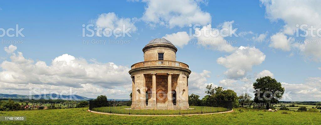 Panorama Tower, Croome Park, Pershore, Worcestershire, UK stock photo