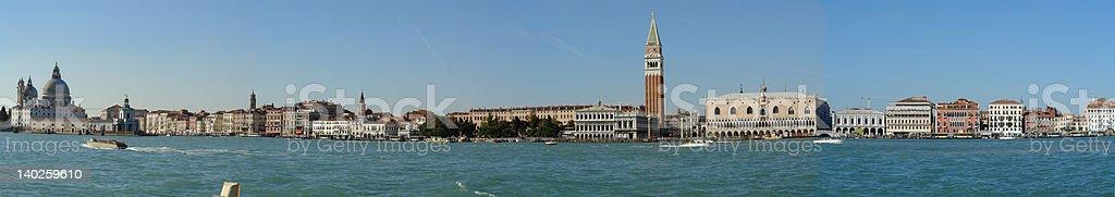 Panorama Venice royalty-free stock photo