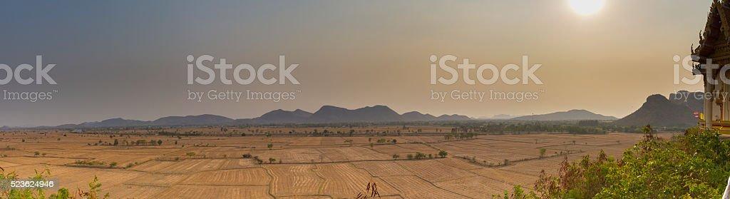 panorama view fram stock photo