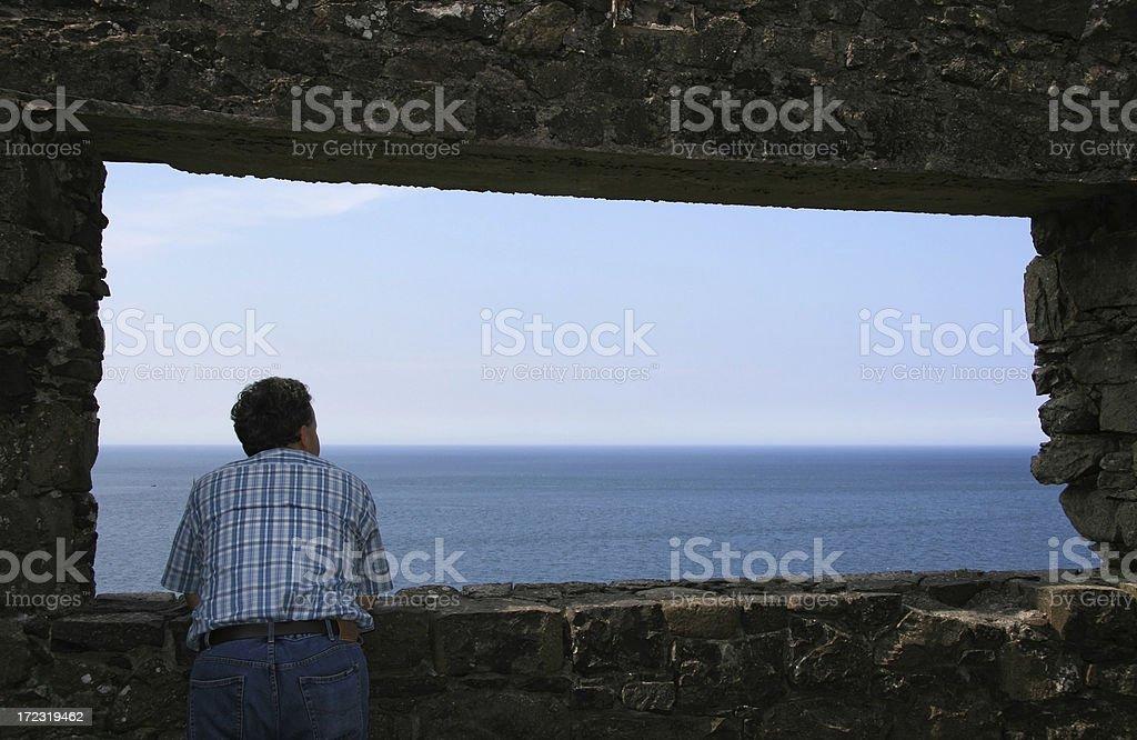 Panorama view stock photo