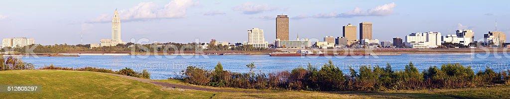 Panoramic Baton Rouge stock photo