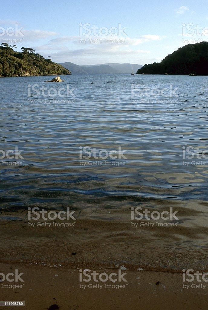 panoramic bay royalty-free stock photo