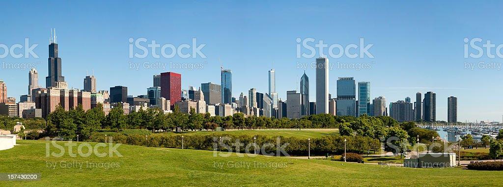 Panoramic Chicago skyline –?XXXL stock photo