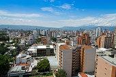Panoramic city of Bucaramanga, Colombia.