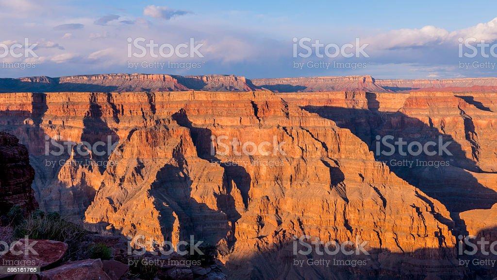 Panoramic Grand Canyon Arizona Lizenzfreies stock-foto