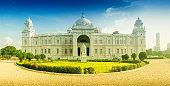 Panoramic image of Victoria Memorial, Kolkata