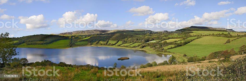 Panoramic Landscape royalty-free stock photo