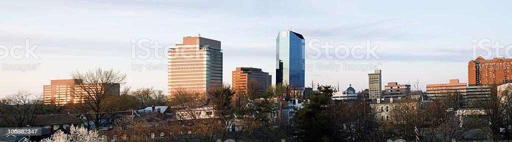 Panoramic Lexington stock photo