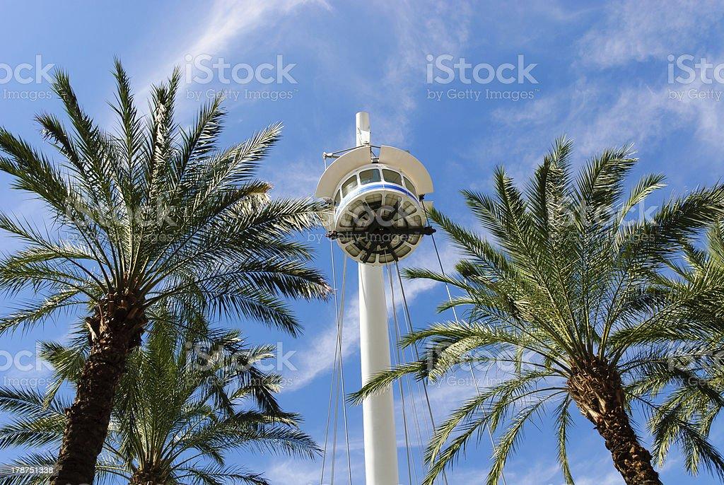 panoramic lift royalty-free stock photo