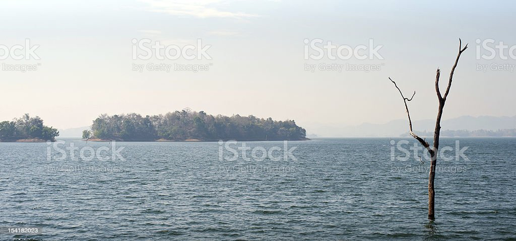 Panoramic Nature View royalty-free stock photo