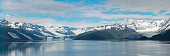 Panoramic of College Fiord