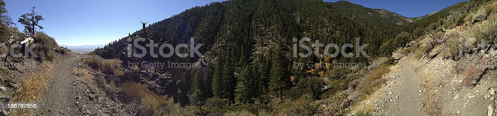 Panoramic of the Discovery Trail royalty-free stock photo