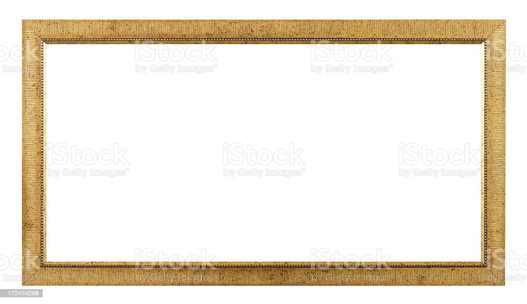 Panoramic Picture Frame royalty-free stock photo