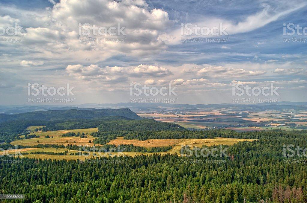 panoramic stock photo