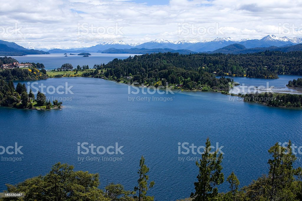 Panoramic Point royalty-free stock photo