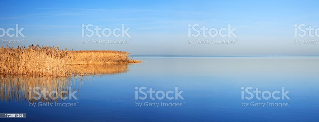 Panoramic Seascape royalty-free stock photo