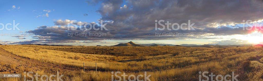 Panoramic Southwest stock photo