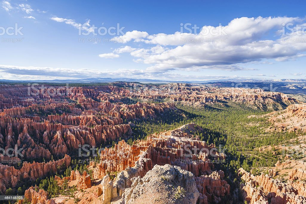 Panoramic View from Bryce Point, Utah, USA royalty-free stock photo