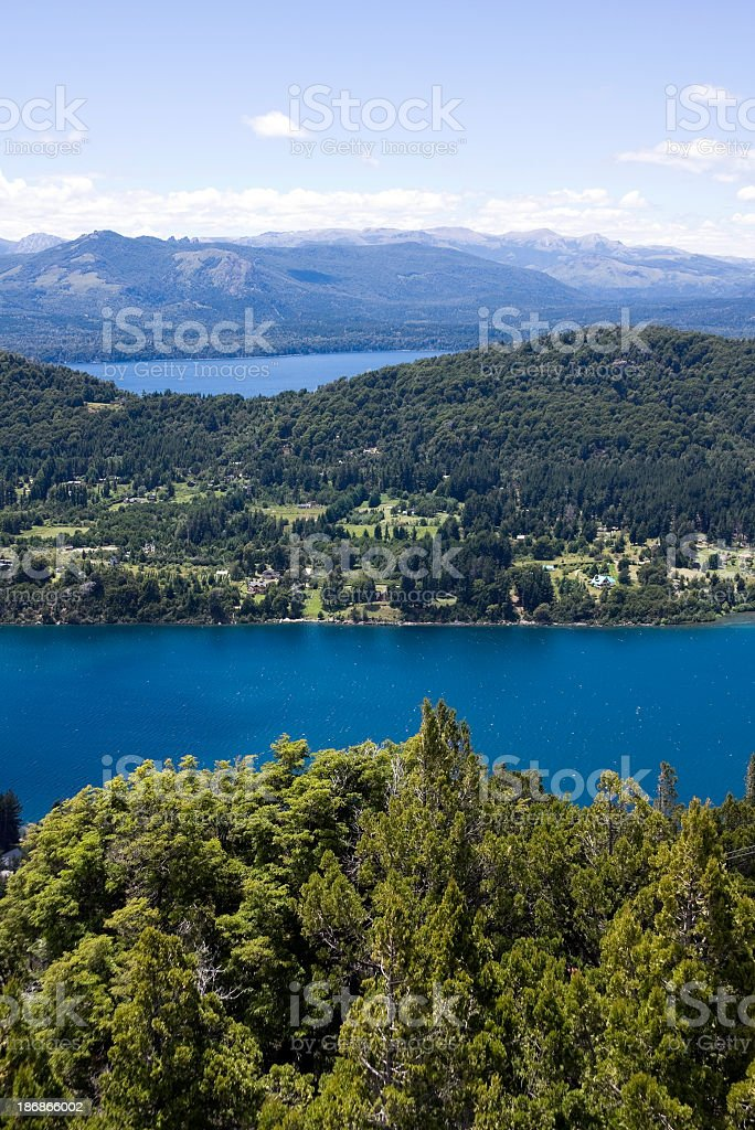 Panoramic View from Cerro Campanario royalty-free stock photo