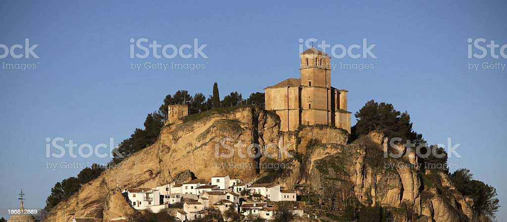 Panoramic view in Granada, Spain royalty-free stock photo