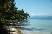 Panoramic view of Boca del toro beach