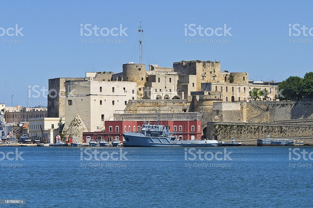 Panoramic view of Brindisi. Puglia. Italy. royalty-free stock photo