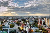 Panoramic View of Bucharest - HDR
