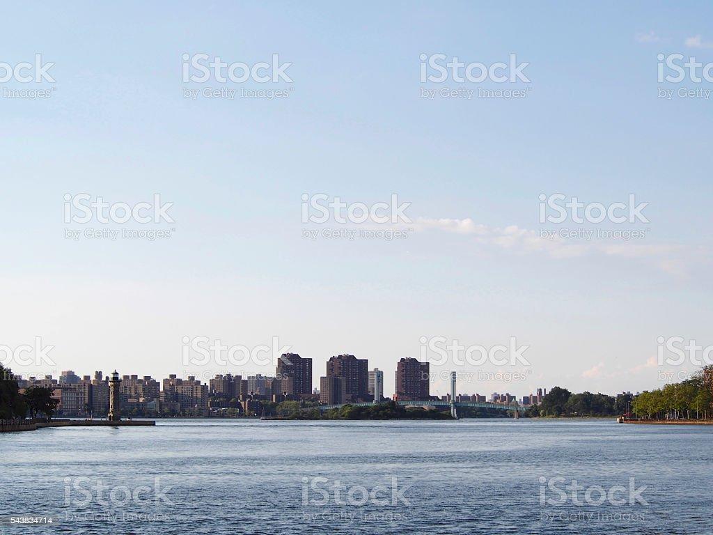 Panoramic view of New York stock photo
