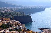 Panoramic View Of Sorrentino, Italy