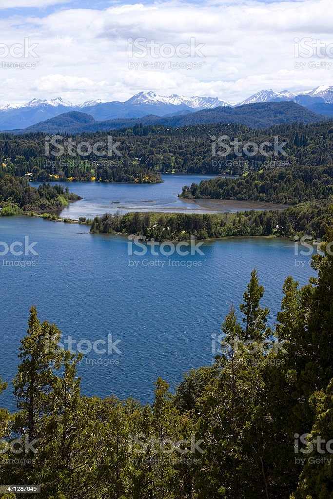 Panoramic view royalty-free stock photo