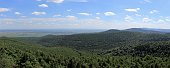 Panoramic views from the Palatinate forest