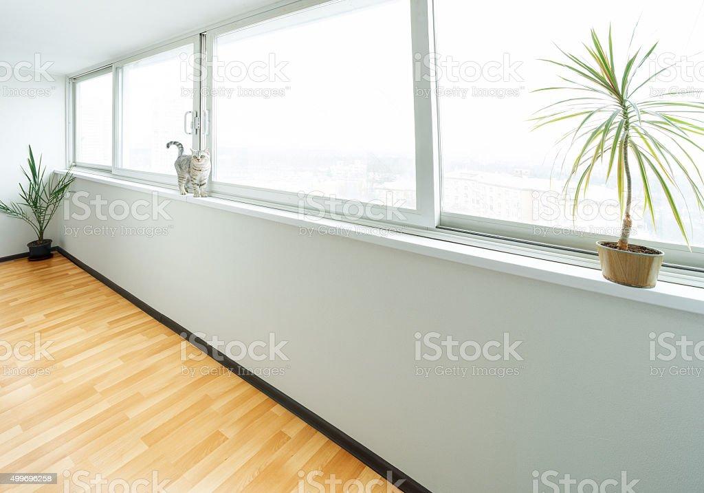panoramic window stock photo