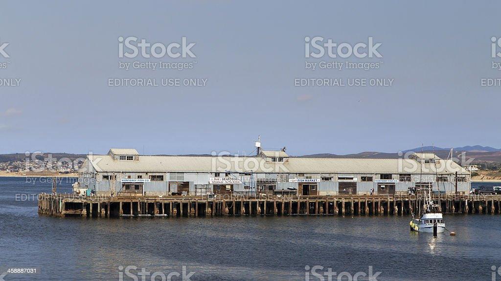 Panormamic View of Monterey Bay, California royalty-free stock photo