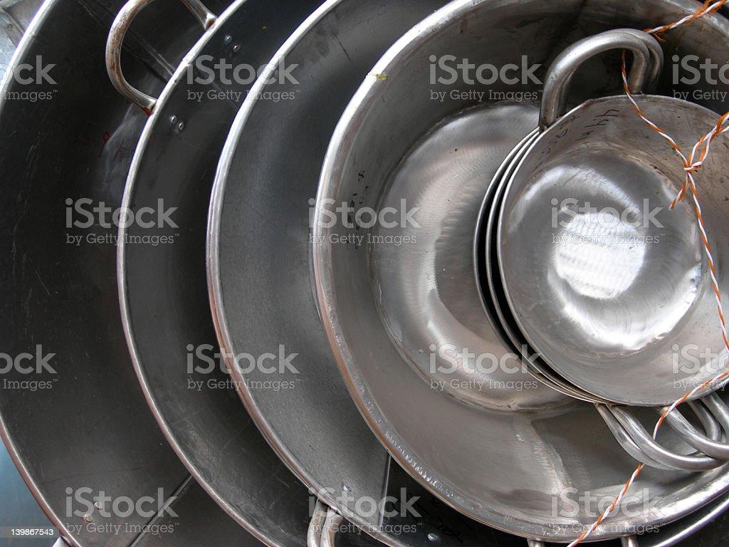 pans royalty-free stock photo