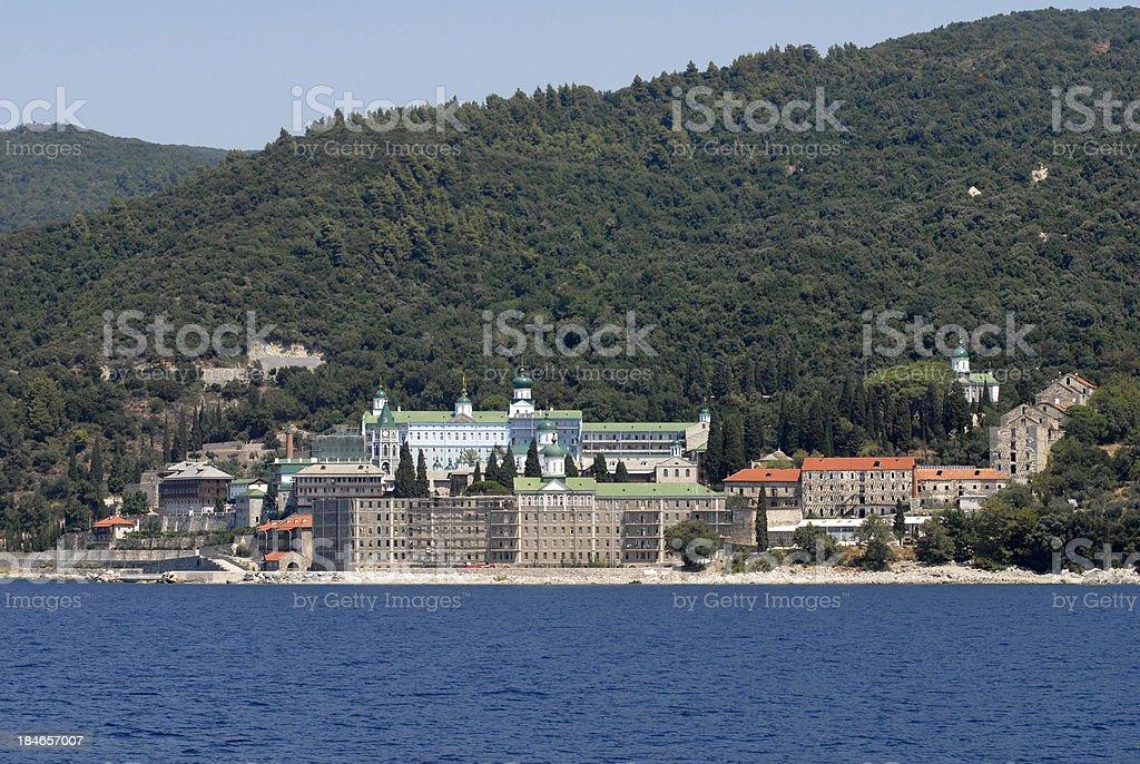 Pantaleon's Monastery royalty-free stock photo