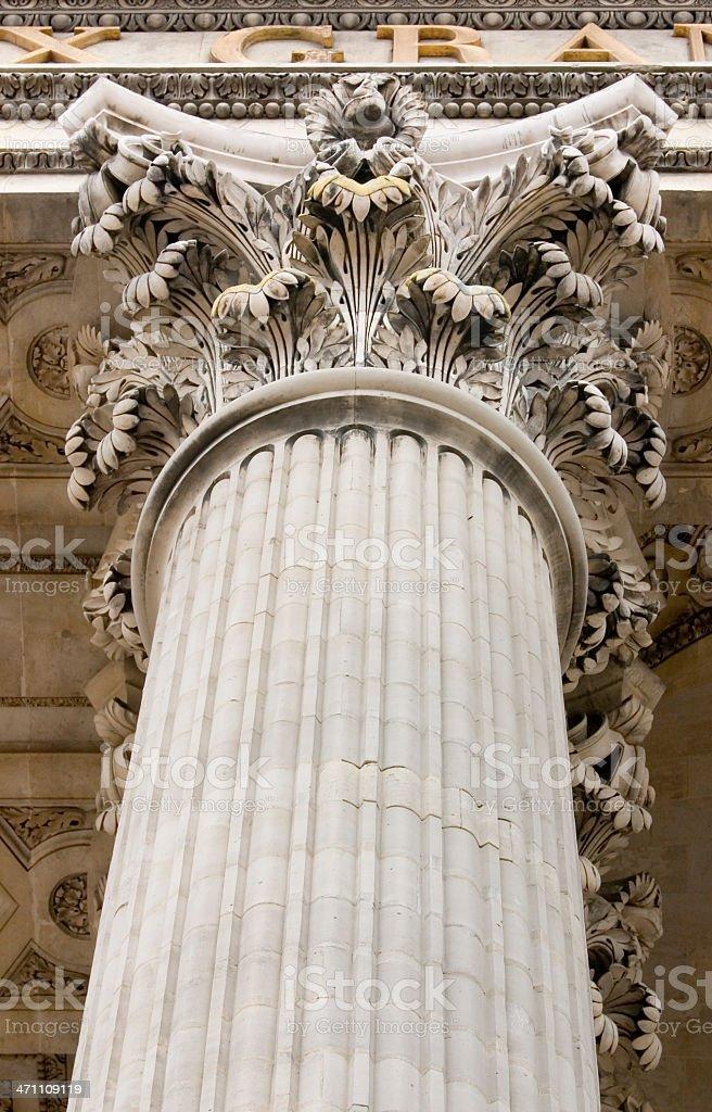 Pantheon Column royalty-free stock photo